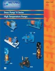 DEAN PUMP - Pristine Water Solutions Inc