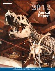 2012 Annual Report - Santa Barbara Museum of Natural History