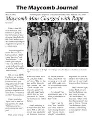 The Maycomb Journal Maycomb Man Charged with Rape