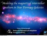 of the starburst galaxy NGC 253