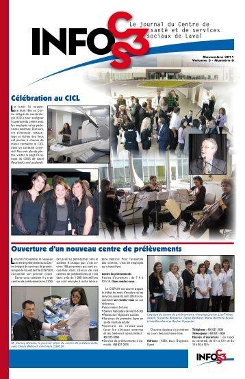 Volume 3 Numéro 8 - Centre de santé et de services sociaux de Laval