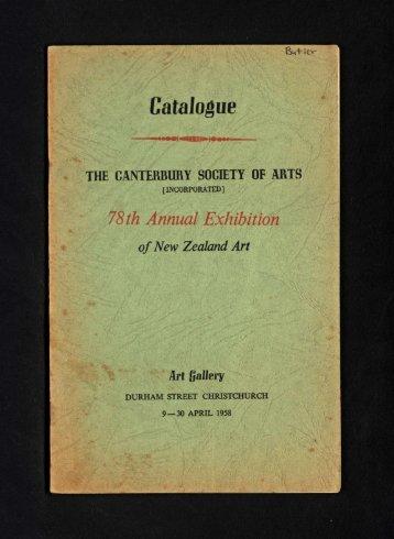 Catalogue - Christchurch Art Gallery
