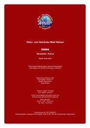 Katalog für Hersteller: Amrut - und Getränke-Welt Weiser