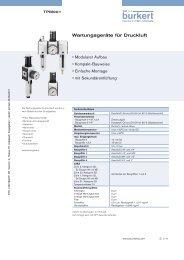 Wartungsgeräte für Druckluft