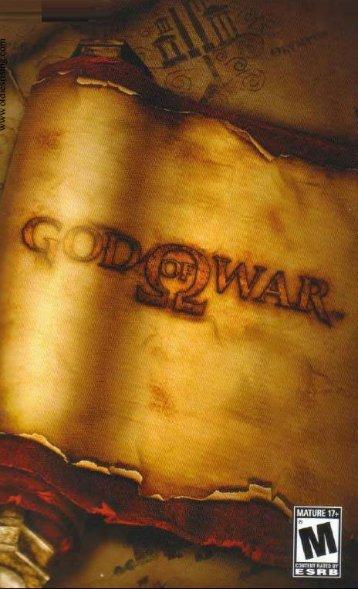 Notice God of War (Playstation 2) - Oldies Rising