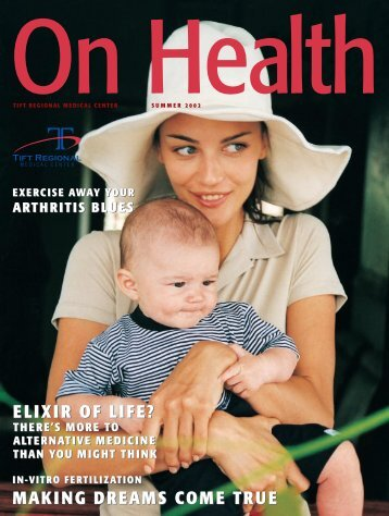 making dreams come true elixir of life? - Tift Regional Medical Center