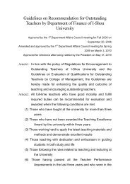 Guidelines on Recommendation for Outstanding Teachers by ...