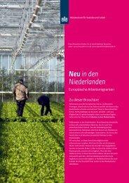 Neu in den Niederlanden - Inspectie SZW