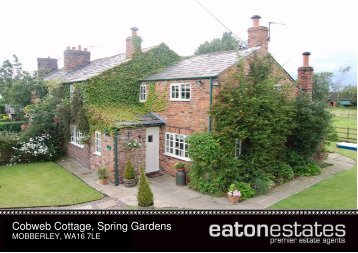 Cobweb Cottage, Spring Gardens - Eaton Estates