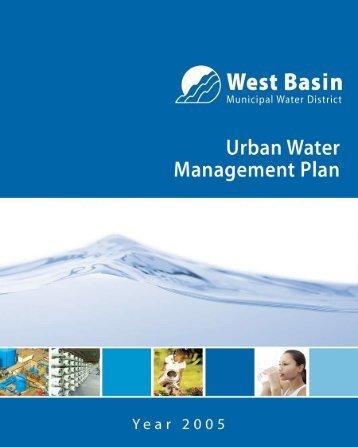 Urban Water - West Basin Municipal Water District