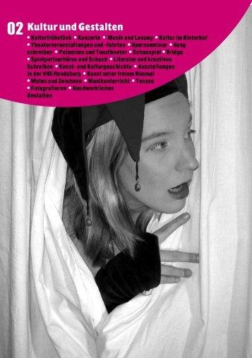 Kultur und Gestalten - VHS-Rendsburger Ring eV