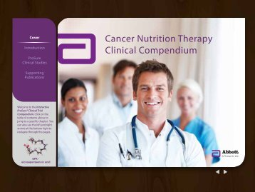 Cover Introduction ProSure Clinical Studies ... - Abbott Nutrition