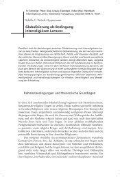 Globalisierung als Bedingung interreligiösen Lernens