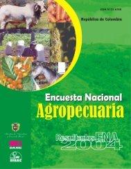 Encuesta nacional agropecuaria 2004 - Agronet