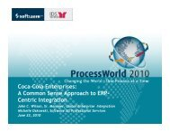 Coca-Cola Enterprises - Empower - Software AG
