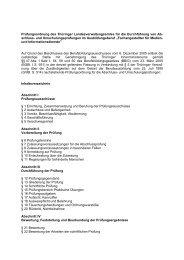 Prüfungsordnung des Thüringer Landesverwaltungsamtes für die ...