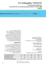 CC-Schleppflex® PUR-575 - ConCab kabel gmbh