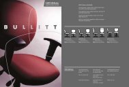Bullitt Features and Benefits: Contoured seat is made of ... - Highmark