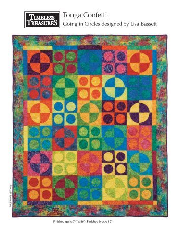 Going in Circles FREE Pattern designed by Lisa Bassett from ...