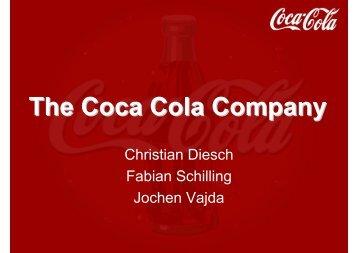 The Coca Cola Company - von Jochen Vajda