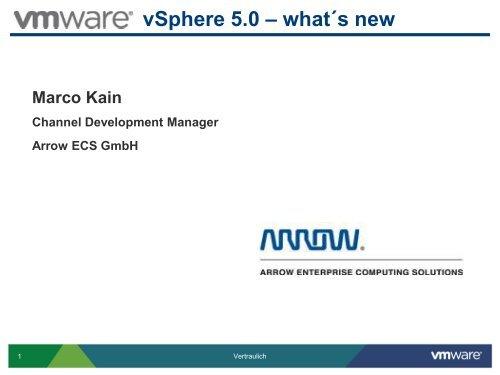 vSphere 5 - Hampel-CoSi IT Service GmbH