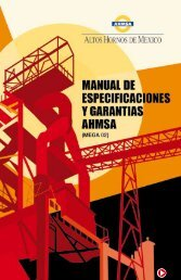 Manual de Especificaciones AHMSA - B2B