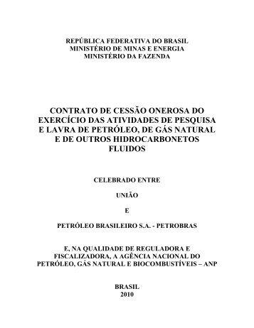 contrato de cessão onerosa do exercício das atividades de ...