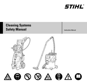 Cleaning Systems Safety Manual - Stihl