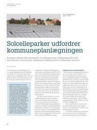 Solcelleparker udfordrer kommuneplanlægningen - KTC