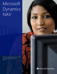 Microsoft Dynamics NAV - NAVAX