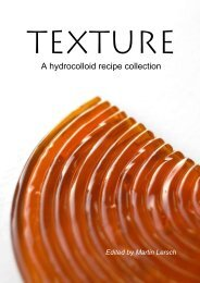 Texture - A hydrocolloid recipe collection - Khymos