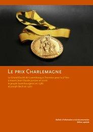 LE PRIX CHARLEmAGnE - Gouvernement du Grand-Duché de ...