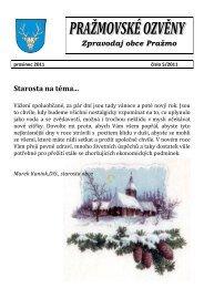 ozvěny prosinec 2011 - Pražmo