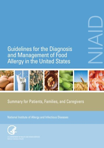 Guidelines for the Diagnosis and Management of Food Allergy in the ...