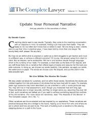 Personal Narrative.pdf - Dennis Coyne Coaching and Consulting