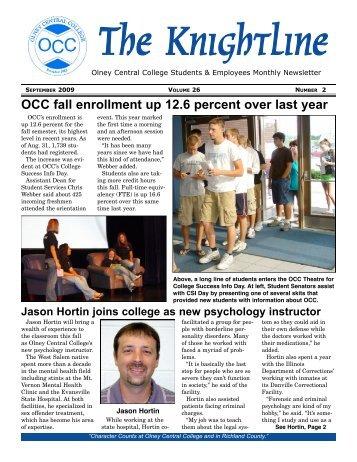 Volume 26, Issue 2, September 2009 - Illinois Eastern Community ...