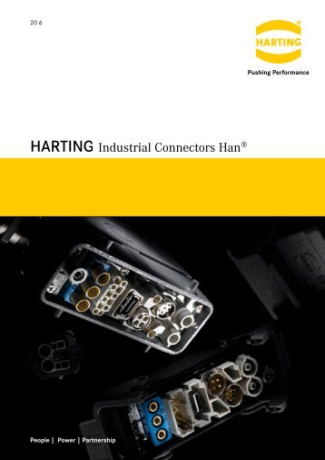 HARTING Industrial Connectors Han - Allied Electronics