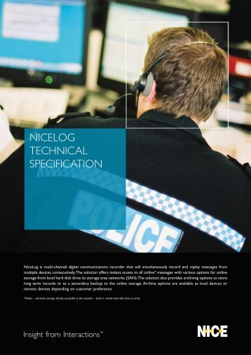 Nicelog technical specification - res