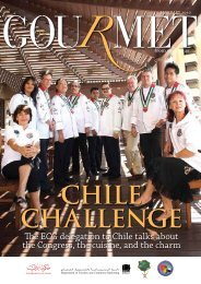 The ECG delegation to Chile talks about the - The Emirates Culinary ...