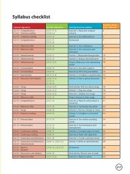 Syllabus checklist