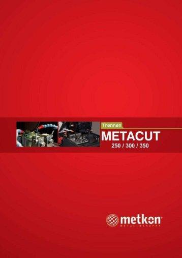 METACUT Gesamtprospekt
