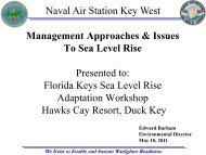 Ed Barham - Naval Air Station Key West