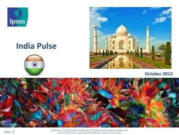 Indian Economy India - Ipsos