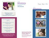 Nurturing Parenting Brochure - Lake County Office of Education