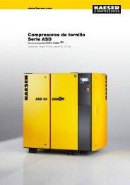 Compresores de tornillo Serie ASD - Kaeser - Kaeser Kompressoren
