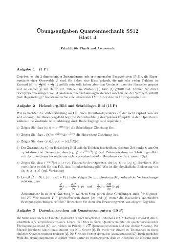194168ubungsaufgaben quantenmechanik ss12 blatt 3
