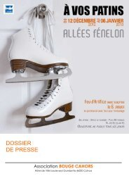 Une patinoire au coeur de la ville pour - Cahors