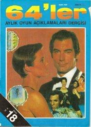 64ler - Sayi 18 (Eylul 1989).pdf - Retro Dergi