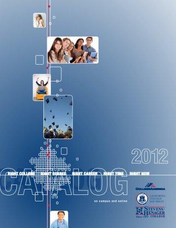 Catalog - California College San Diego