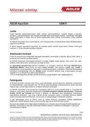 ADLER Aqua-Dark 13596ff